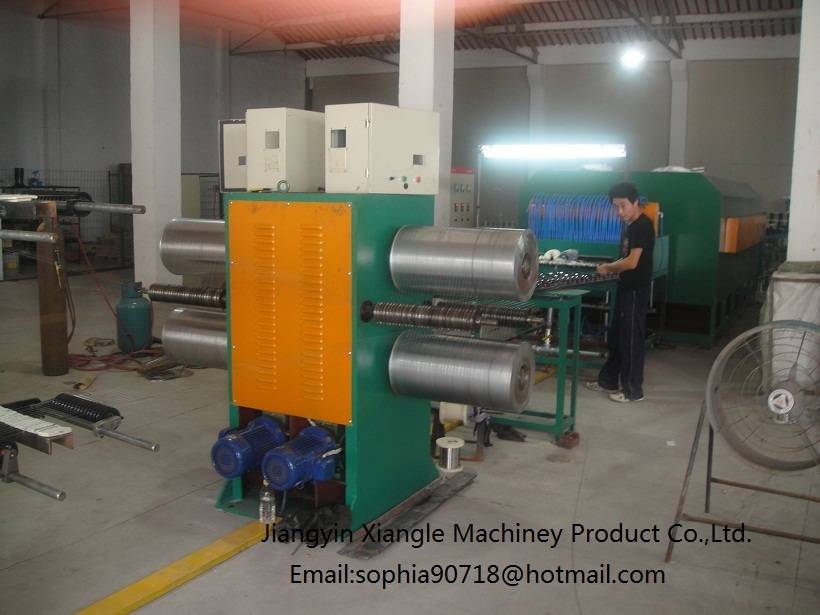 tube type stainless steel wire annealing furnace