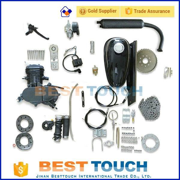 2 stroke 48cc 49cc 50cc 60cc 66cc 80cc small bicycle gas engine kits/gasoline engine kits