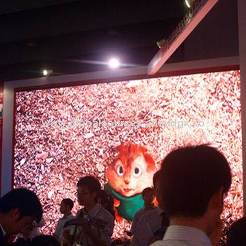 LED Display Screen, Indoor P10, Long Durability and High-reliability