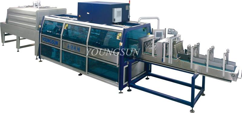 YS-ZB-6II High Speed PE Film Shrink Wrapping Machine