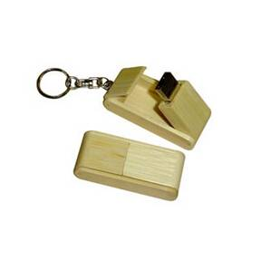 Wood clasp USB flash drive disks