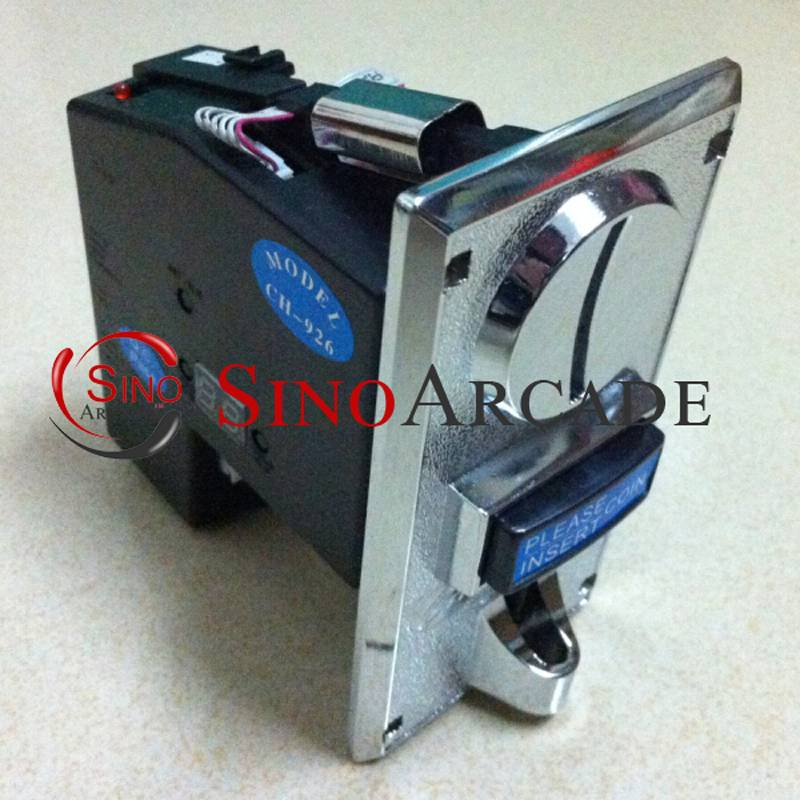JY-926 CPU Multi Coins Selector coin Acceptor for Arcade machine,accept 6 kinds of coins