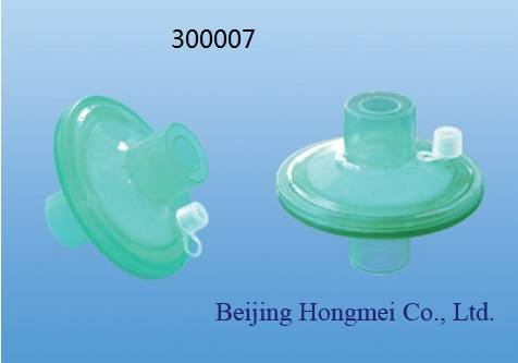 22mm Medical Bacteria Filter for ICU Ventilator/ Breathing Apparatus