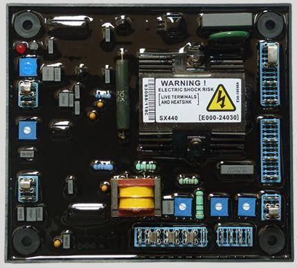 SX440 AVR Board For Stamford Alternator