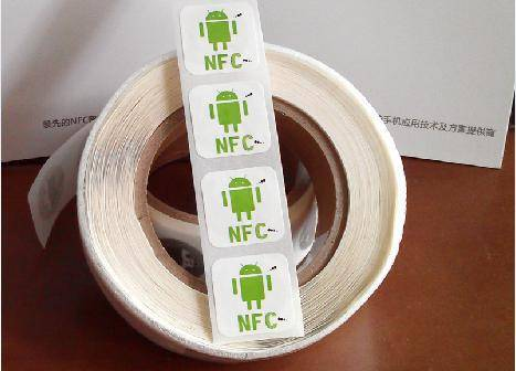 NFC Tags Stickers 13.56Mhz RFID Smart Cards Adhesive Label for Samsung HTC Nokia Sony Xperia Oppo LG