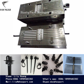nylon cable tie injection mould for auto automotive use