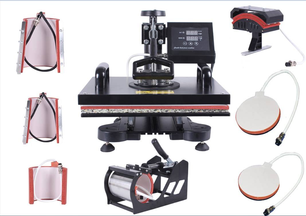 Best Seller multicolor Classicial 8 in 1 heat press Transfer Printing machines in Guangzhou