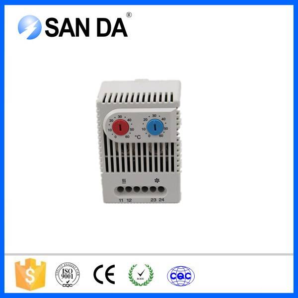 Normally Opend Touch Screen Safety Dual Thermostat