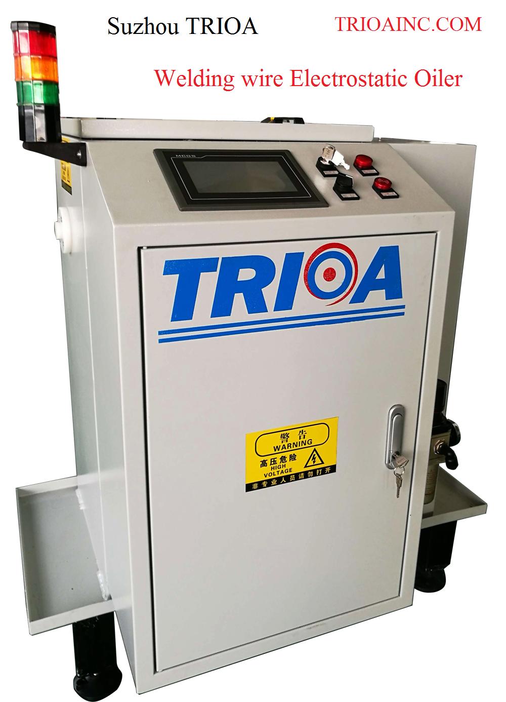TRIOA WELDING WIRE ELECTROSTATIC COATER