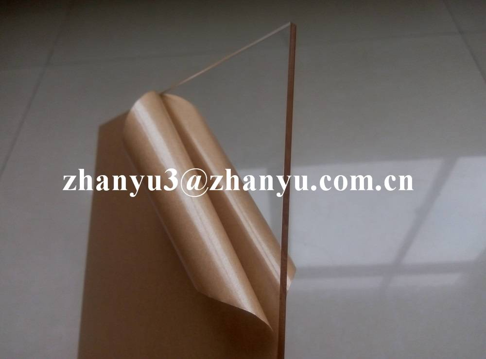 100% New Material Virgin Lucite High Quality Transparent Cast Acrylic Sheet