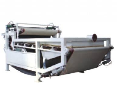 Belt type filter press
