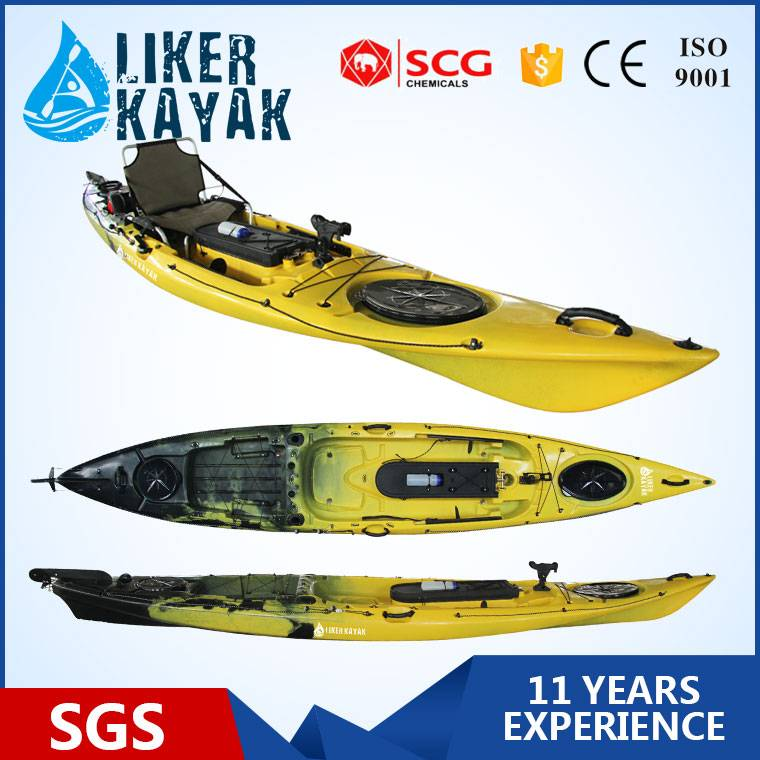 New Design Sit On Top Fishing Kayak with Pedal