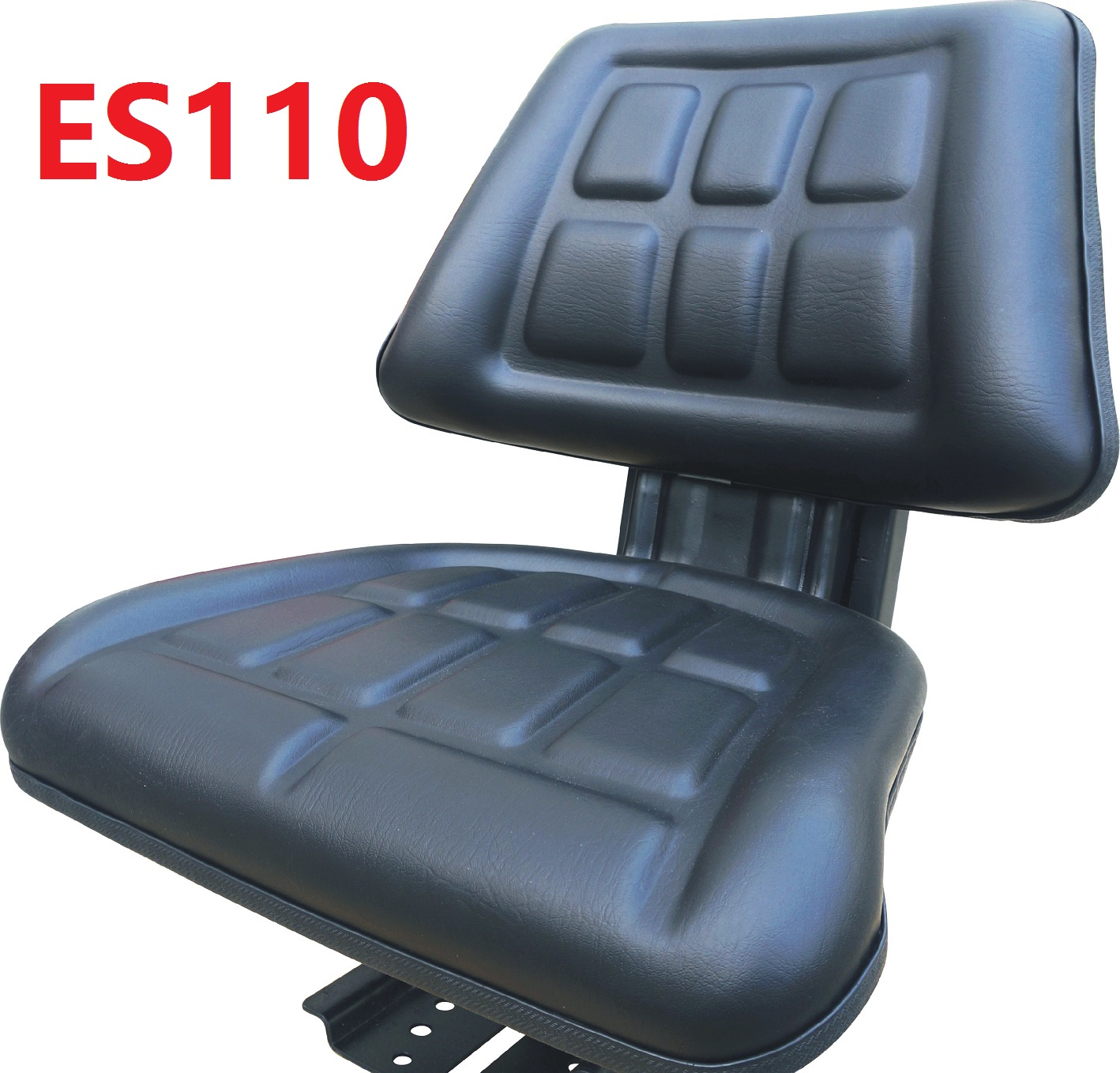 Durable Universal Suspension Replacement Seat ES110 Sweeper Farming Agricultural Tractor Mower Seat