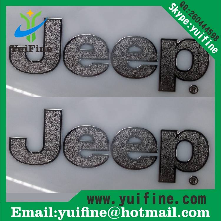 Electroformed Thin Metal label/Logo Name Plate Adhesive nickel sticker nameplate label sticker