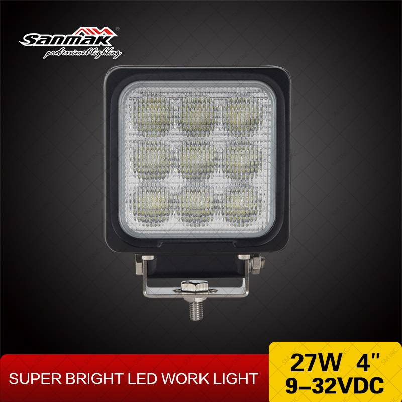 Heavy duty 27w LED work light