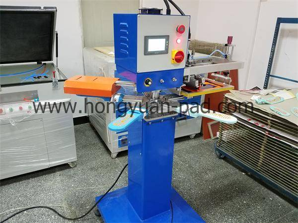 high speed rotary anti slip socks screen printing machine