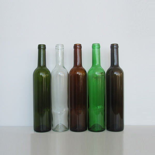 Hight quality red wine bottles