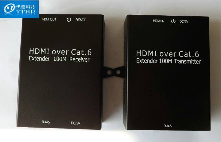 HDMI Extender Single Over Cat6e/7 100M ,Support HDMI1.3b HDCP1.2