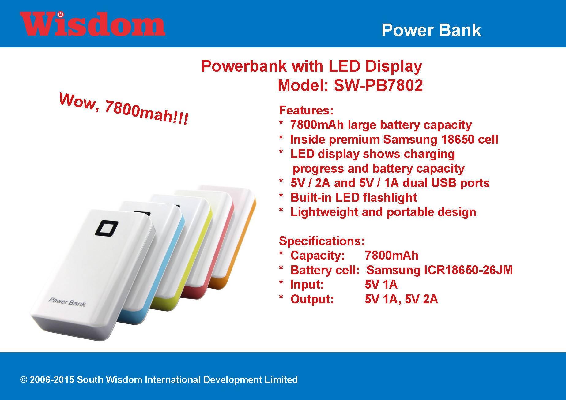 7800mah Powerbank