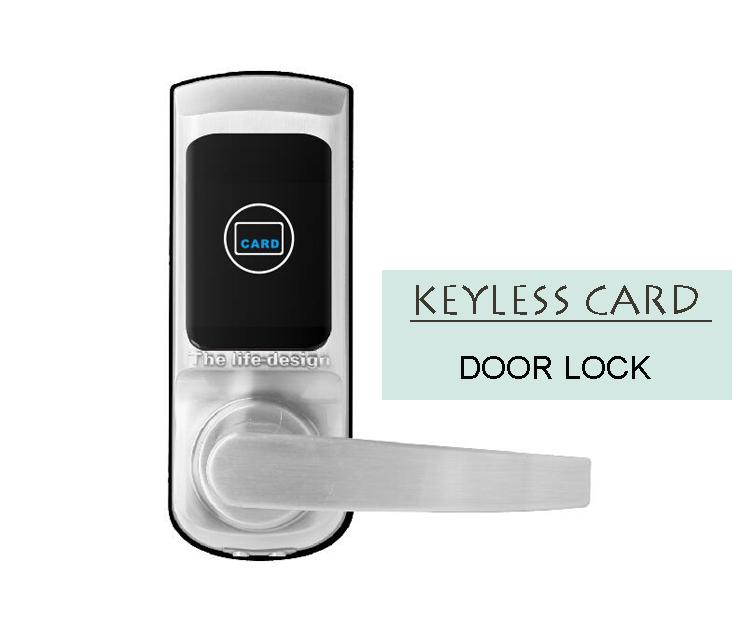 China Cheapest Price Hotel RFID Smart Electronic lock Key Card Door Lock