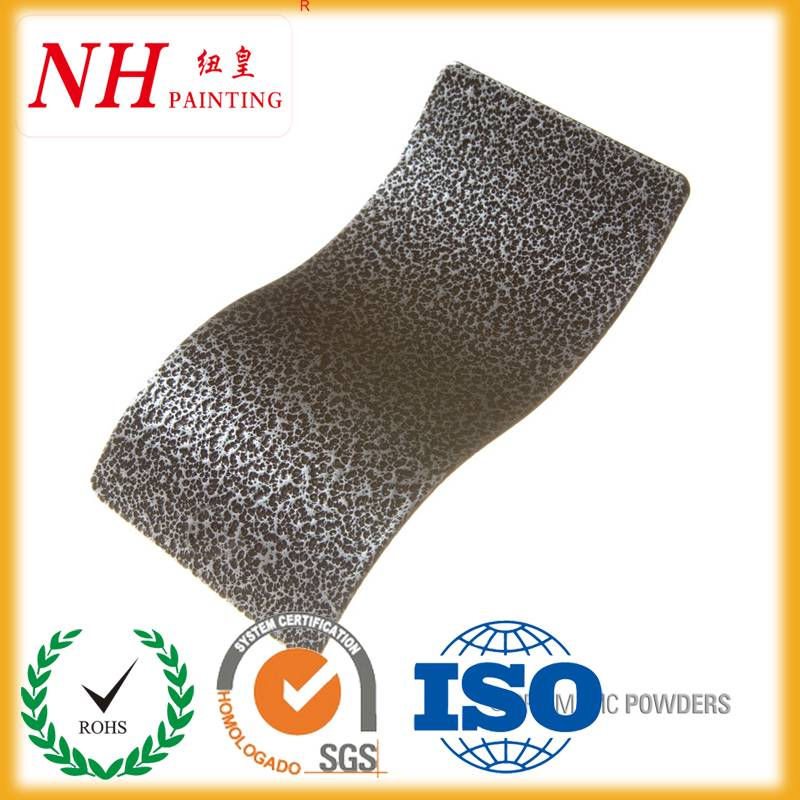 Thermosetting texture powder coating