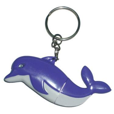 pvc dolphin usb flash drive