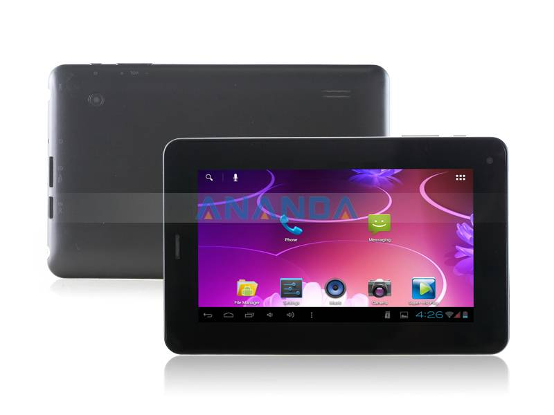 7inch 2G Phone Call Android 4.0 Capacitive touch screen Tablet PC Q88-GSM