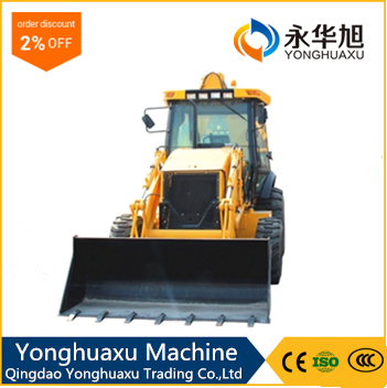 china agricultural mini telescopic wheel loader with cheap price