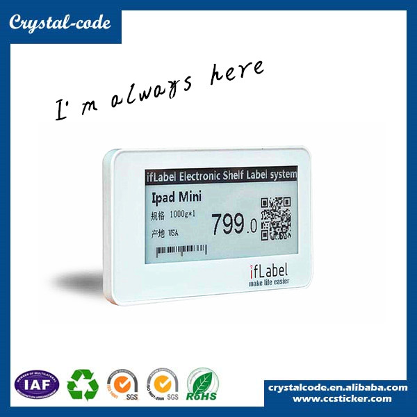 A complete range of specifications sticker label,electronic shelf label,label sticker