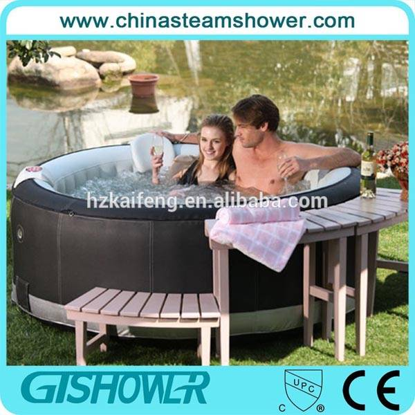 130 Bubble Jets Inflatable Outdoor Whirlpool Spa