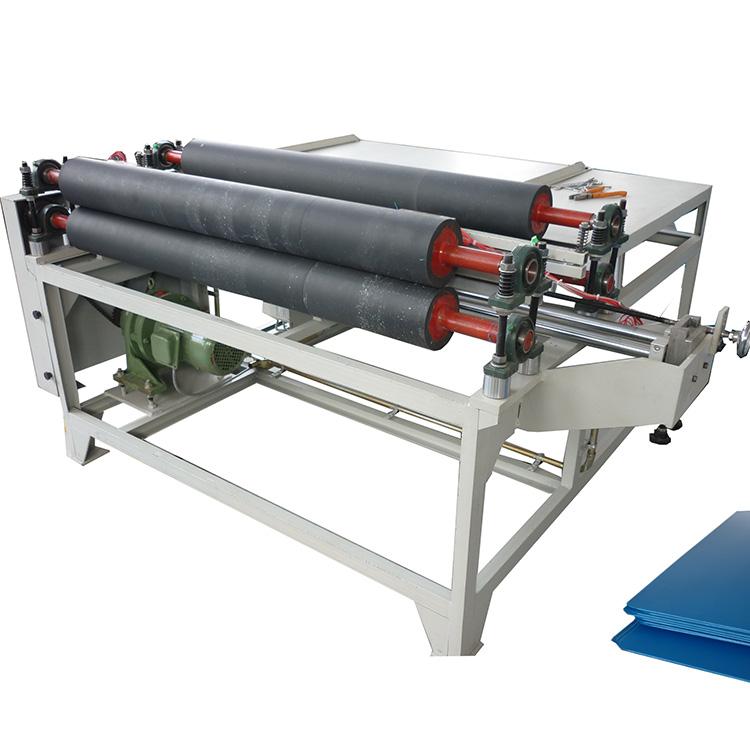 Plastic PP corrugated sheet round corner sealing machine