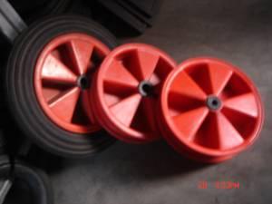 """plastic wheel 15x3"""""""
