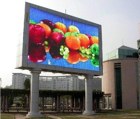 10000 dot/sqm high resolution outdoor P10 big screen