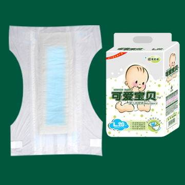 Ultra soft and instant absorption sery baby diapers