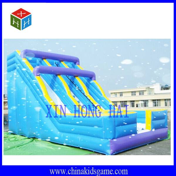 KI-XHH2033 High quality outdoor funny sunshine inflatable jump slide