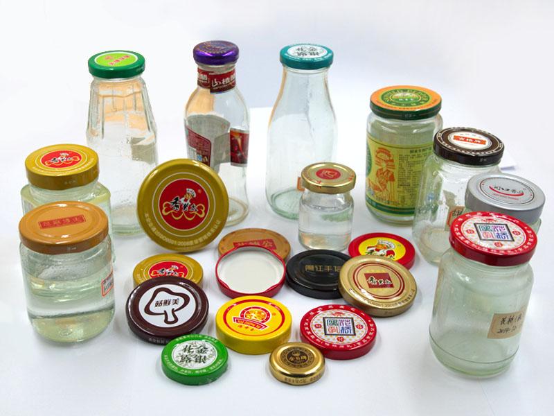 Metal Twist off Cap for Glass Jam Jar Bottle Milk Bottle