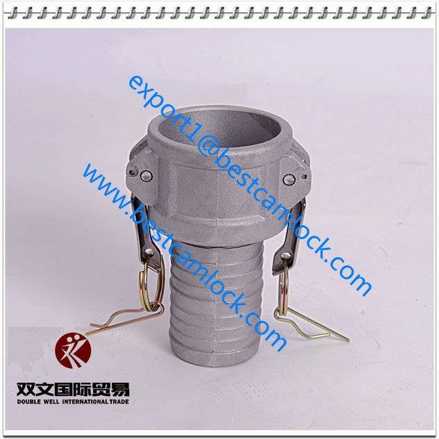 Aluminum hot sale quick connector cam and groove couplings type C