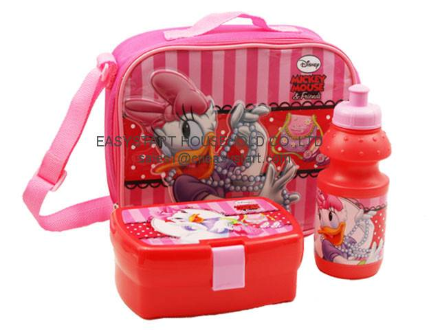 plastic lunch box and water bottle set, lunch box set