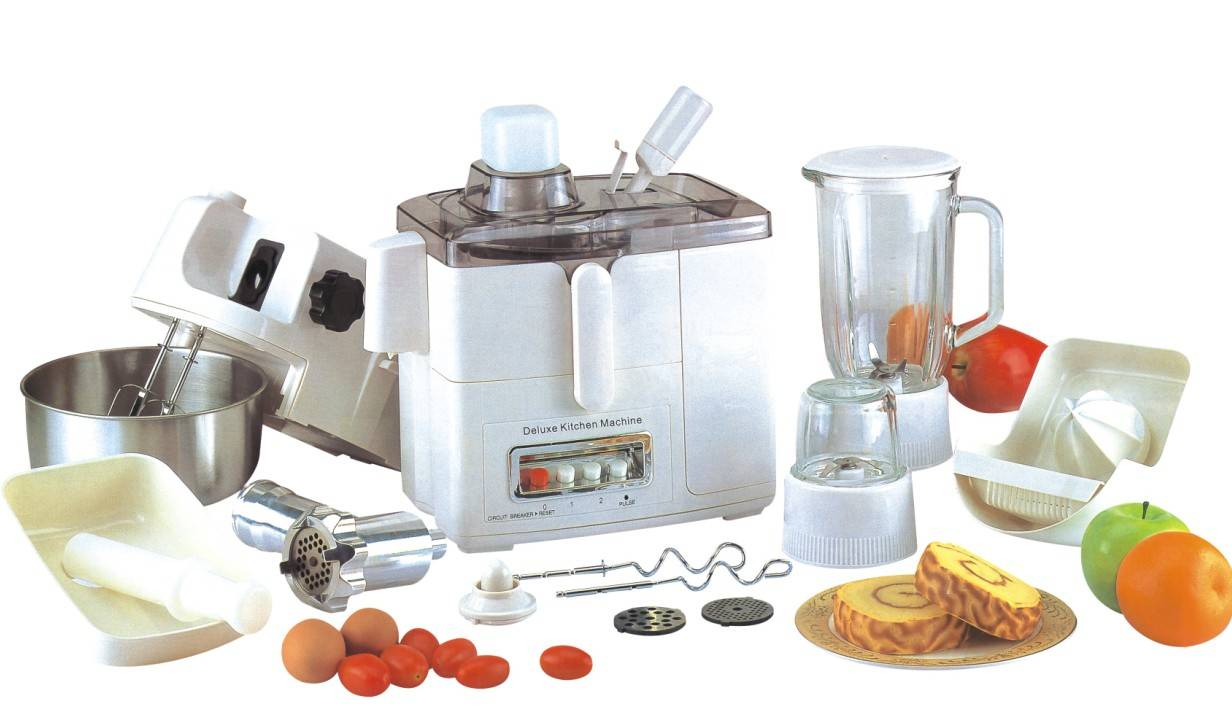 10 In 1 Multi-function Food Processor With Electric Beater