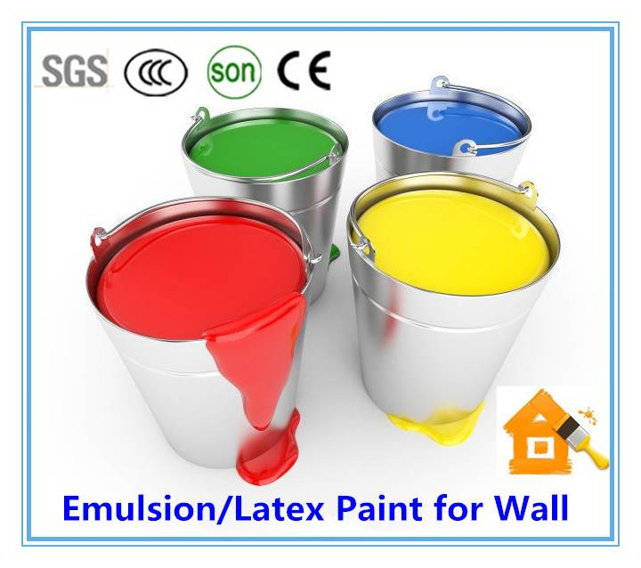 MESIDEN Acrylic Water-Based Emulsion Paint/Latex Paint For  Wall
