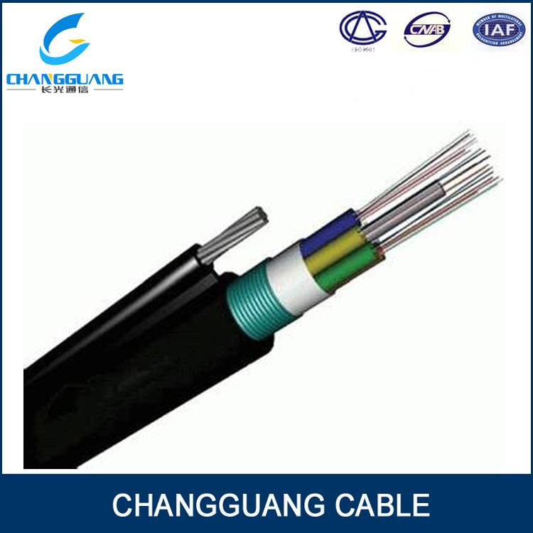 GYTC8S Outdoor Optical Fiber Cable Aerial Self-Supporting Figure 8 Armored Waterproof Stranded Loose