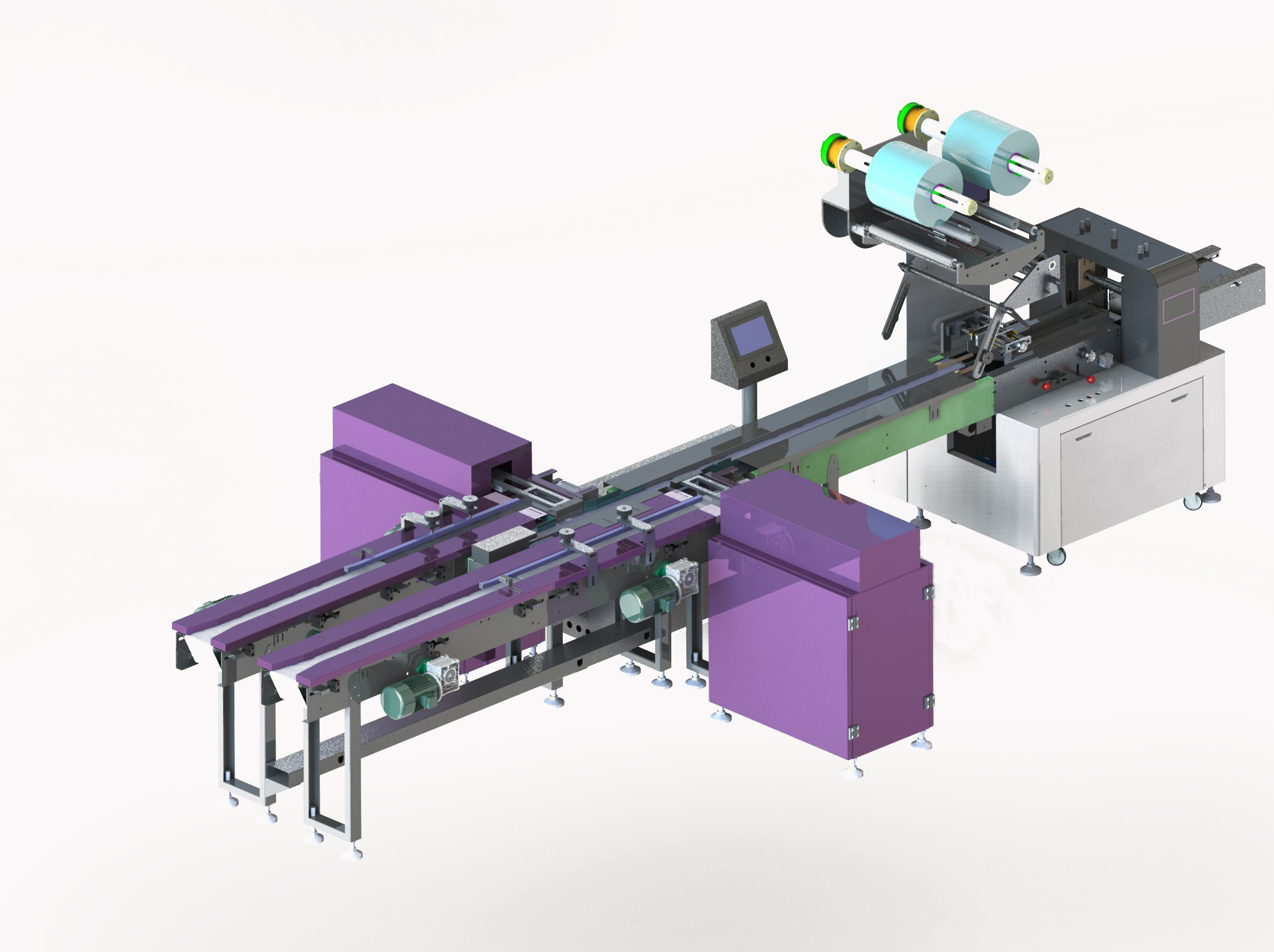 Wafer packing system