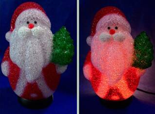EVA&LED Christmas decorative ligts,Santa with Christmas tree,xmas lights