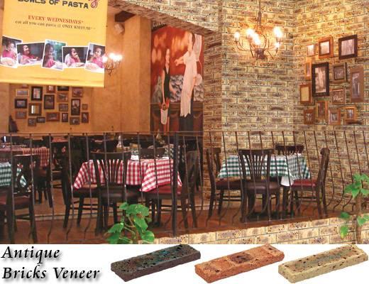 Antique Bricks Veneer