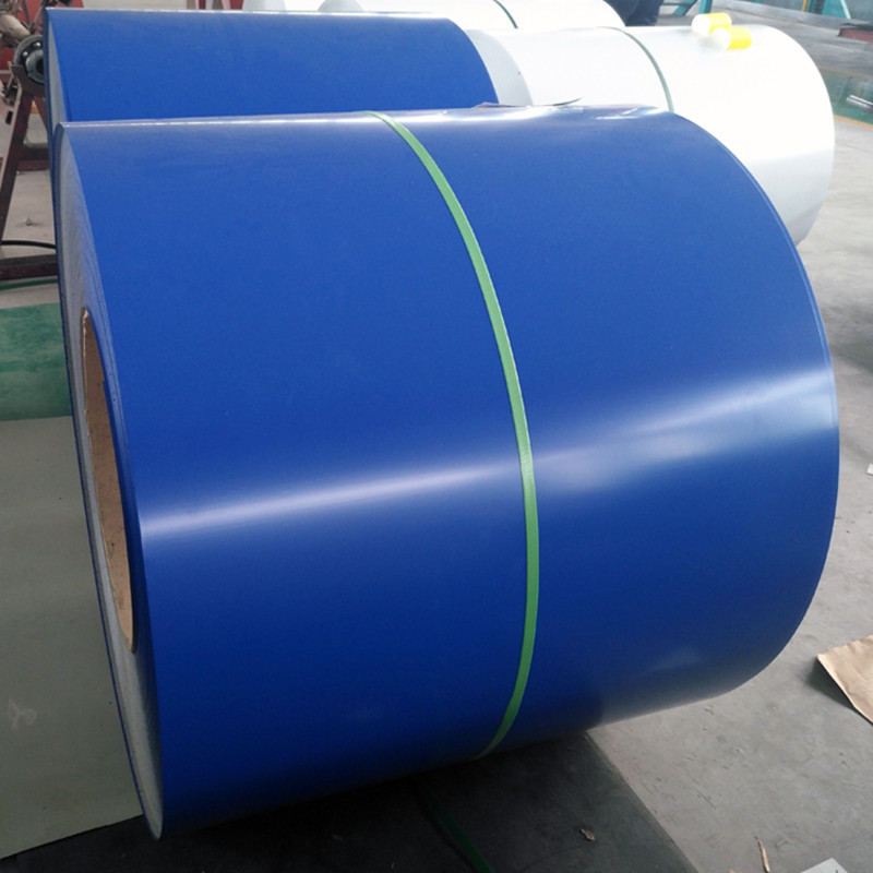 prepainted galvalume steel coil / colored aluzinc roofing sheet price