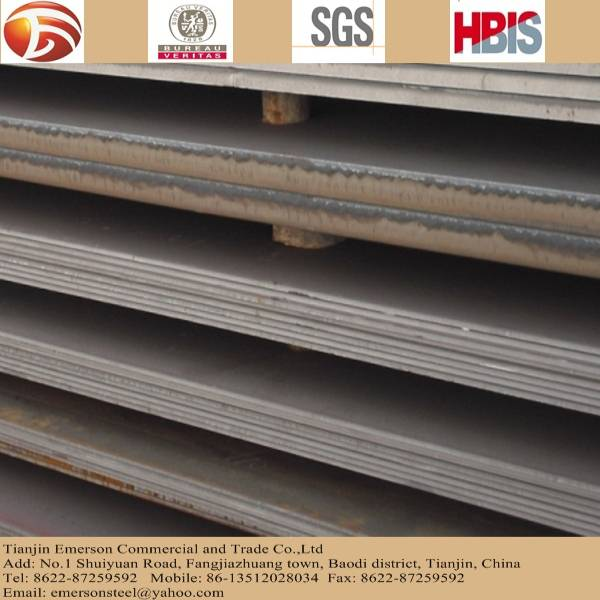 hot rolled steel plate, steel plate hs code and steel plate price per ton large on stock for constru