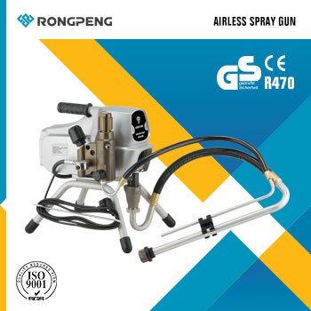 RONGPENG Airless Paint Sprayer High Pressure Airless Piston Pump R470