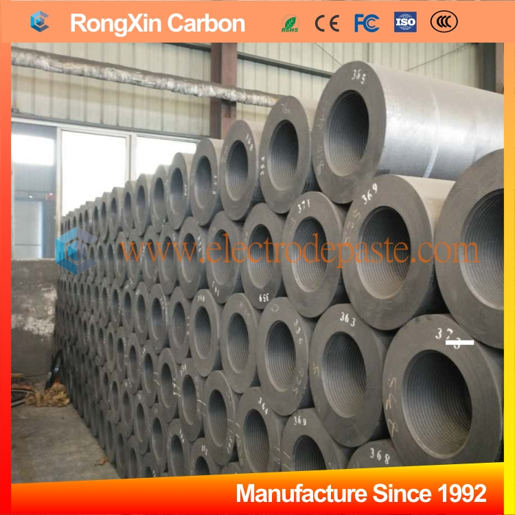 High Quality 150-750mm Graphite Electrodes for Steel Making Metallurgy Industries