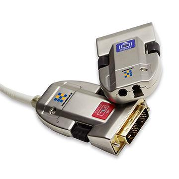 2km fiber optic extender,DVI long-range optical transmitter & receiver