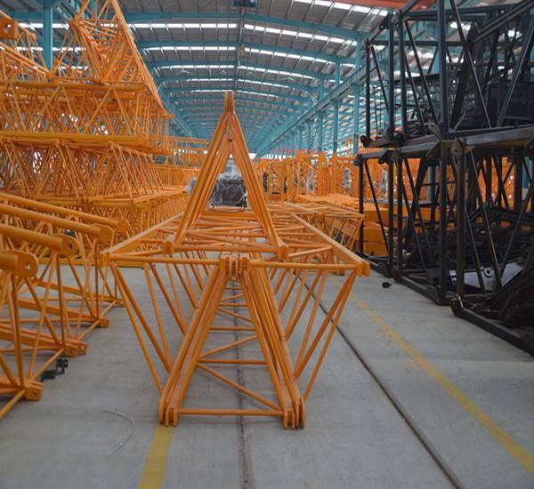 Hot sale 8ton tower crane manufacturer
